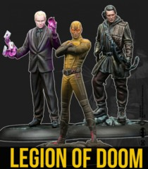 Batman Minitaures Game- Legion of Doom (Resin)