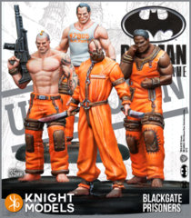 Batman Miniature Game: Blackgate Prisoners Set (2nd Edition) (Resin)