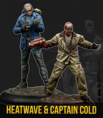 Batman Miniatures Game: Heatwave & Captain Cold (Resin)