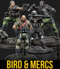 Batman Miniatures Game: Bird & Mercs