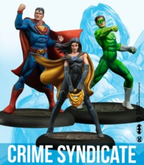 DC Universe Miniatures Game: Crime Syndicate (Resin)