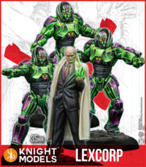 DC Multiverse- Lex Luthor & Lexcorp Troopers (Resin)