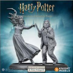Harry Potter Miniatures Adventure Game: Bellatrix Lestrange & Peter Pettigrew