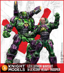 DC Multiverse- Lex Luthor Warsuit & Heavy Trooper (Resin)