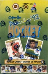 1991-92 O-Pee-Chee Premier Hockey Wax Box