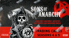 2015 Topps Cryptozoic Sons of Anarchy Seasons 4 & 5 Hobby Box