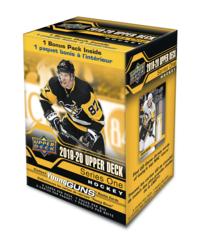 2019-20 Upper Deck Series 1 Hockey Retail Blaster