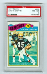 1977 Topps #269 Archie Griffin (Rookie) PSA 8