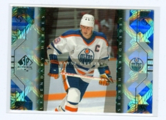 1999-00 SP Authentic Legendary Heroes #LH1 Wayne Gretzky