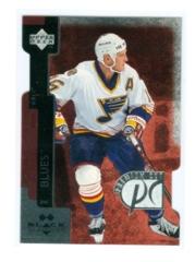 1997-98 Black Diamond Premium Cut Double Diamond #PC18 Brett Hull