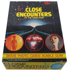 1978 Topps Close Encounters of the Third Kind Box