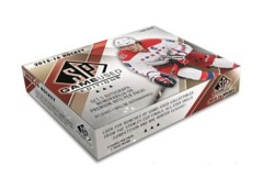 2015-16 Upper Deck SP Game Used Hockey Hobby Box