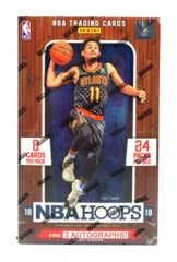 2018-19 Panini NBA Hoops Basketball Hobby Box