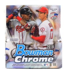 2018 Bowman Chrome Baseball Hobby Box