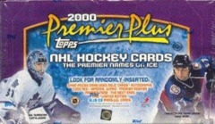 1999-00 Topps Premier Plus Hockey Hobby Box