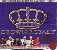 2003-04 Crown Royale Hockey Hobby Box