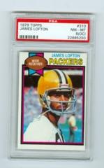 1979 Topps #310 James Lofton (Rookie) PSA 8OC