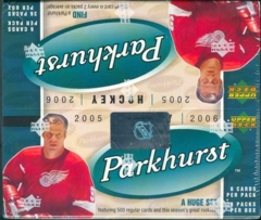 2005-06 Parkhurst Hockey Retail Box