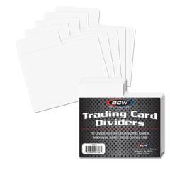 Trading Card Dividers - Horizontal