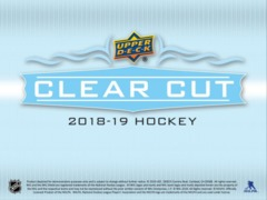 2018-19 Upper Deck Clear Cut Hockey Hobby Box- Call for Pricing & Availability