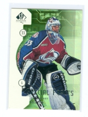 1999-00 SP Authentic Special Forces #SF03 Patrick Roy