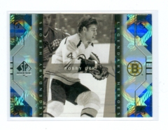 1999-00 SP Authentic Legendary Heroes #LH2 Bobby Orr
