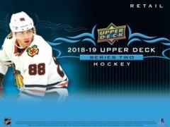 2018-19 Upper Deck Series 2 Hockey Retail Gravity Feed Box
