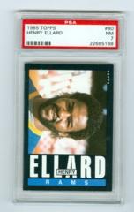 1985 Topps #080 Henry Ellard (Rookie) PSA 7