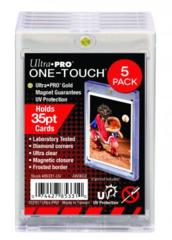 35pt Ultra Pro  UV One-Touch Magnetic Holder 5 pack