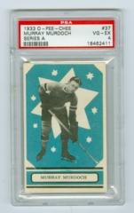 1933-34 O-Pee-Chee V304A #37 Murray Murdoch (Rookie) PSA 4