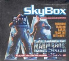 1993 Skybox Super Mario Bros. Movie Trading Cards Box