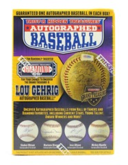 2018 Tristar Hidden Treasures Autographed Baseball