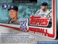 2019 Topps Series 1 Baseball Relic Box
