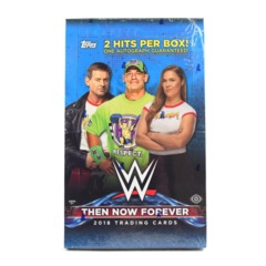 2018 Topps WWE Then, Now, Forever Wrestling Hobby Box