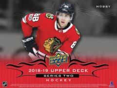 2018-19 Upper Deck Series 2 Hockey Hobby Box- Call for Pricing & Availability