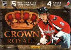 2011-12 Panini Crown Royale Hockey Hobby Box