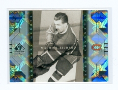 1999-00 SP Authentic Legendary Heroes #LH4 Maurice Richard