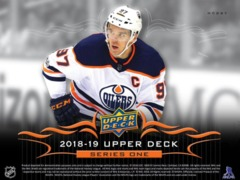 2018-19 Upper Deck Series 1 Hockey Hobby Case Random Team Break- #HK003