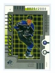 1999-00 SP Authentic #105 Jason Blake #/2000 (Rookie)