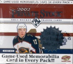 2001-02 Pacific Private Stock Hockey Hobby Box