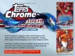 2018 Topps Chrome Baseball Jumbo Pack