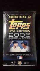 2006 Topps Series 2 Baseball Jumbo (HTA) Box