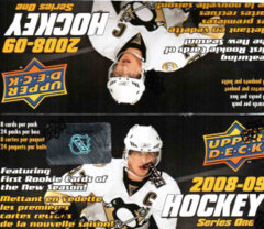 2008-09 Upper Deck Hockey Series 1 Retail Box