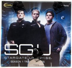 2010 Rittenhouse Stargate Universe Season 1 Hobby Box