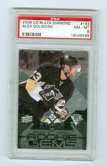 2008-09 Black Diamond #163 Alex Goligoski (Rookie) PSA 8
