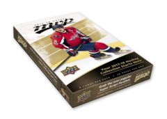 2017-18 Upper Deck MVP Hockey Hobby Box