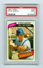 1980 Topps #290 Steve Garvey PSA 9