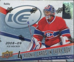2008-09 Upper Deck Ice Hockey Hobby Box