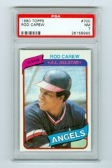 1980 Topps #700 Rod Carew PSA 7