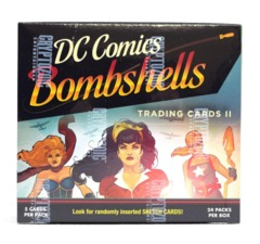 2018 Cryptozoic DC Comics Bombshells Trading Cards Box
